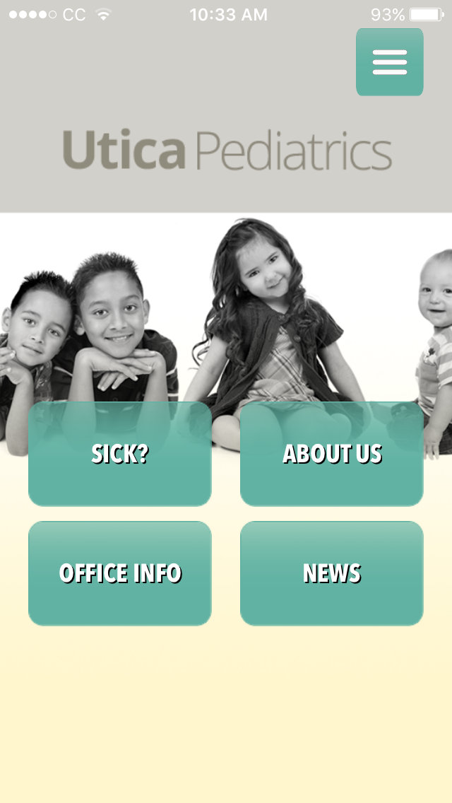 Utica Pediatrics Mobile App